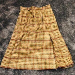 Jaeger vintage tweed skirt